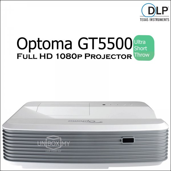 Optoma GT5500 Ultra Short Throw 1080p Home Theater Projector