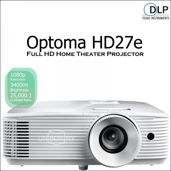 Optoma HD27e Home Theater Package
