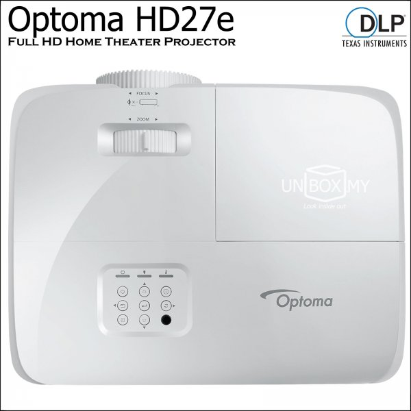 Optoma HD27e DLP Full HD Home Theater Projector