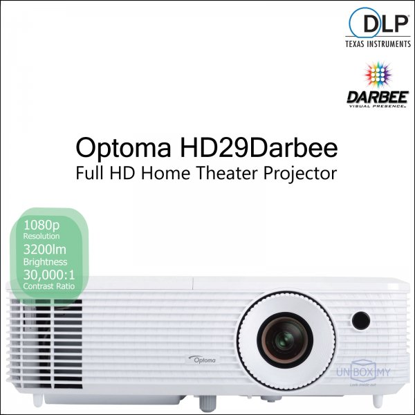 Optoma HD29Darbee DLP Full HD Home Theater Projector
