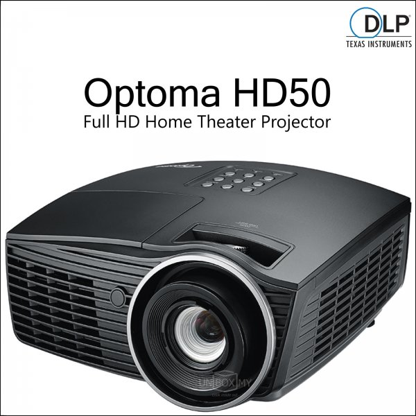 Optoma HD50 DLP Full HD Home Theater Projector