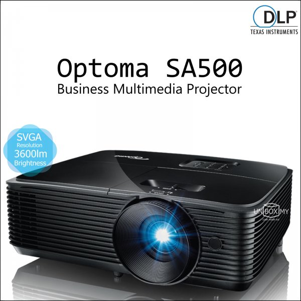 Optoma SA500 DLP SVGA Business Multimedia Projector