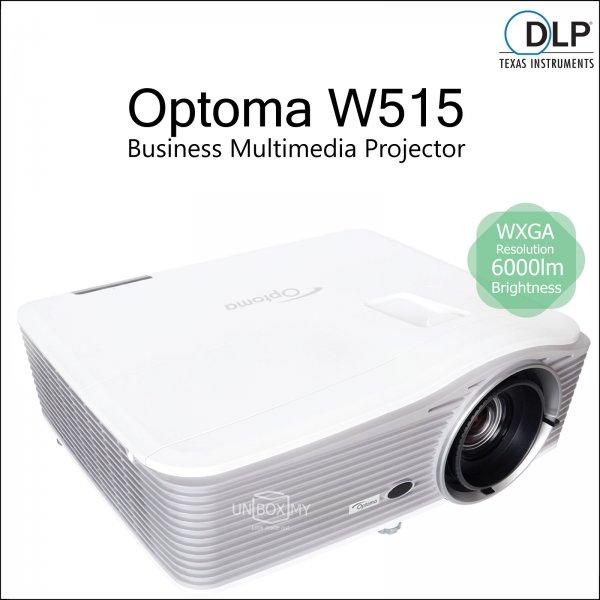Optoma W515 DLP WXGA Business Multimedia Projector