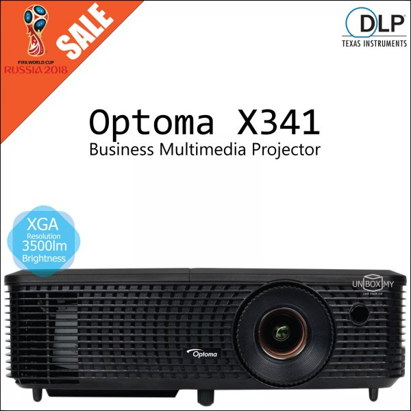 Optoma X341 DLP XGA Business Multimedia Projector