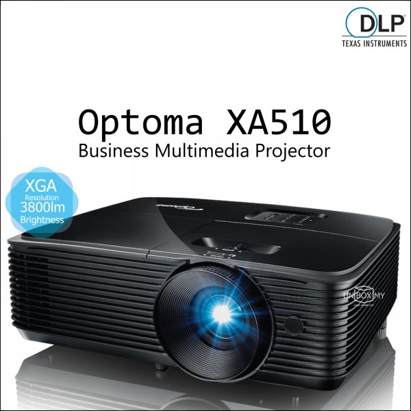 Optoma XA510 DLP XGA Business Multimedia Projector
