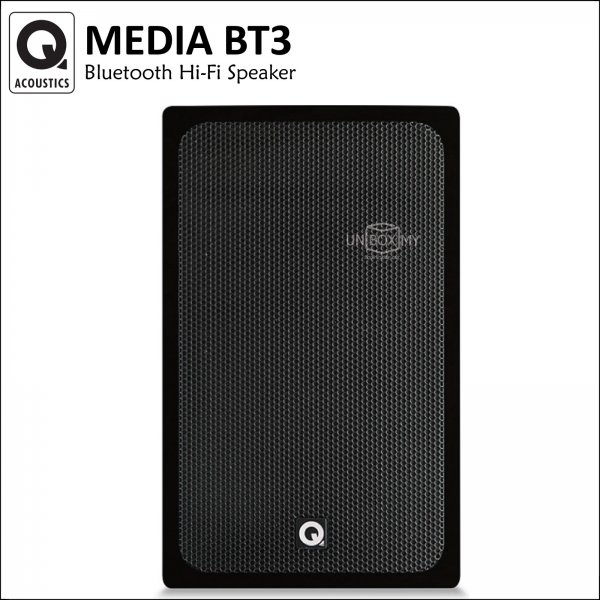 Q ACOUSTICS Media BT3 Bluetooth Hi-Fi Speaker (Jet Black)