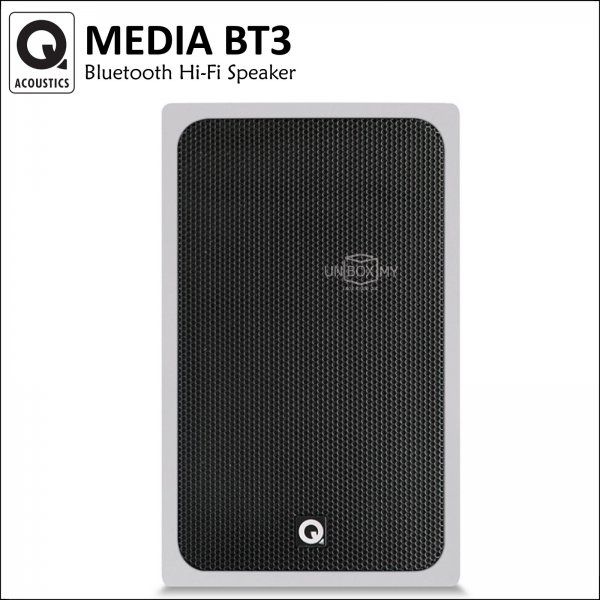 Q ACOUSTICS Media BT3 Bluetooth Hi-Fi Speaker (Urban White)