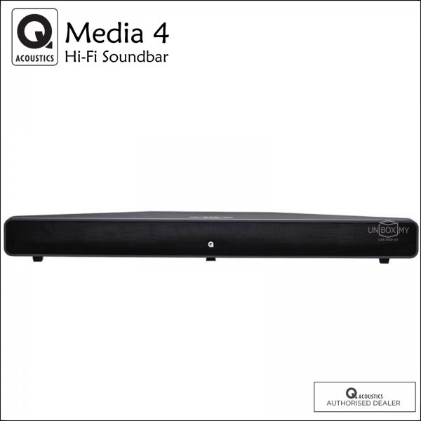 Q ACOUSTICS Media 4 (M4) Bluetooth Hi-Fi Soundbar