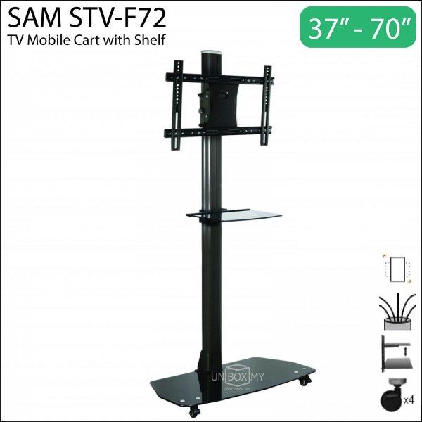 SAM STV-F72 37-70 inch Height Adjustable TV Cart