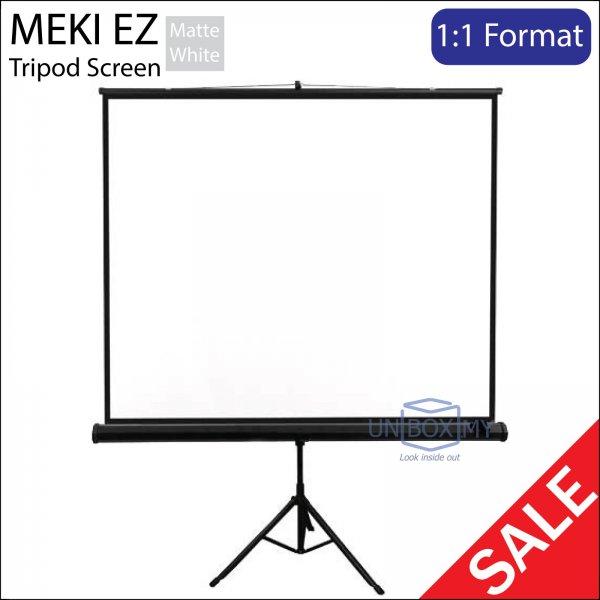 MEKI EZ Portable Tripod Projector Screen Matte White (AV 1:1)