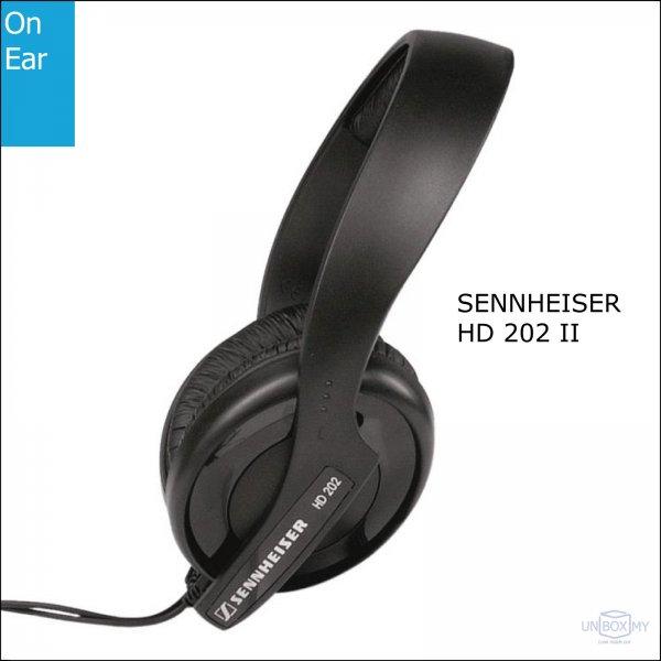 Sennheiser HD 202 II Stereo Headphones
