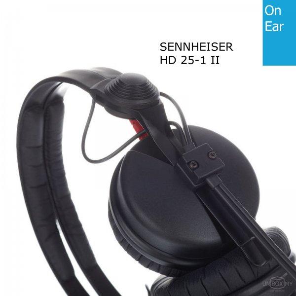 Sennheiser HD 25-1 II DJ Professional Headphones