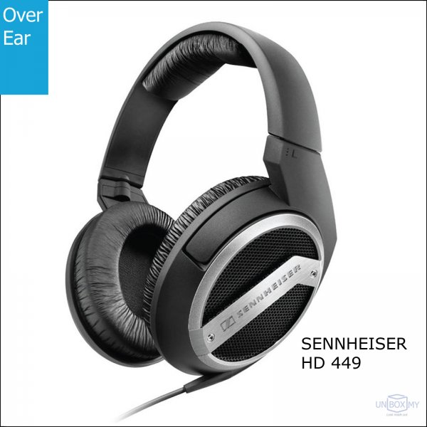 Sennheiser HD 449 Stereo Headphones