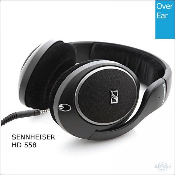 Sennheiser HD 558 Audiophile Headphones