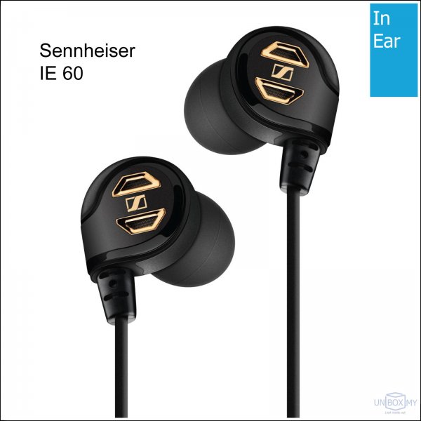 Sennheiser IE 60 Ear-canal Professional Headphones