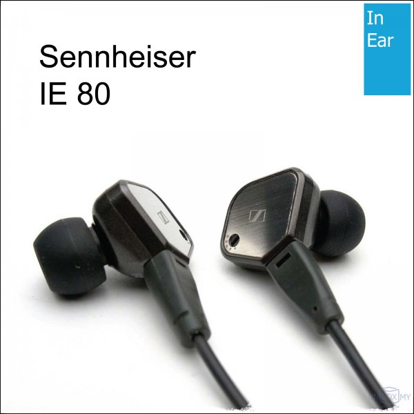 Sennheiser IE 80 Ear-canal Professional Headphones