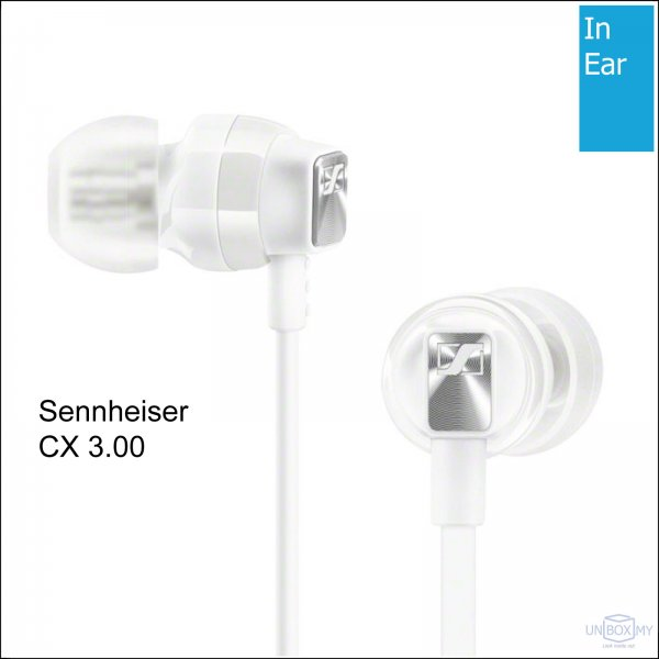 Sennheiser CX 3.00 In-ear Headphones (White)