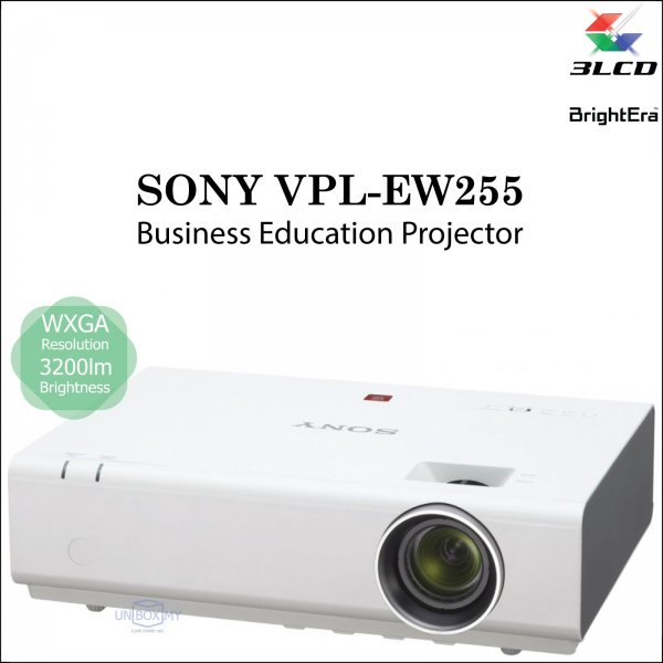 Sony VPL-EW255 3LCD WXGA Business Education Projector