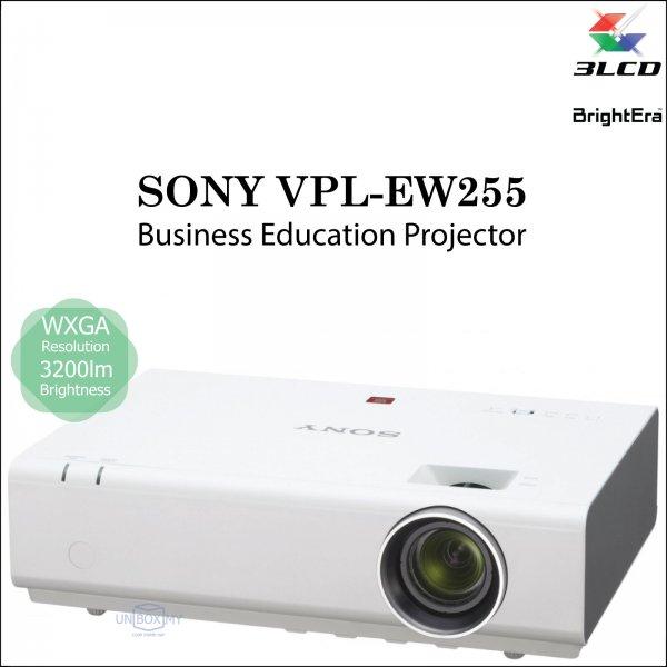 Sony VPL-EW255 3LCD WXGA Business Education Projector