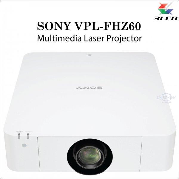 Sony VPL-FHZ60 3LCD WUXGA Laser Multimedia Projector