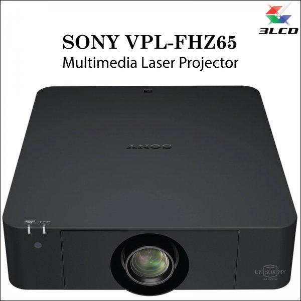 Sony VPL-FHZ65 3LCD WUXGA Laser Multimedia Projector