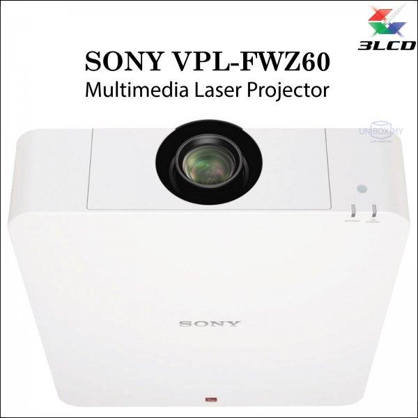 Sony VPL-FWZ60 3LCD WXGA Laser Multimedia Projector