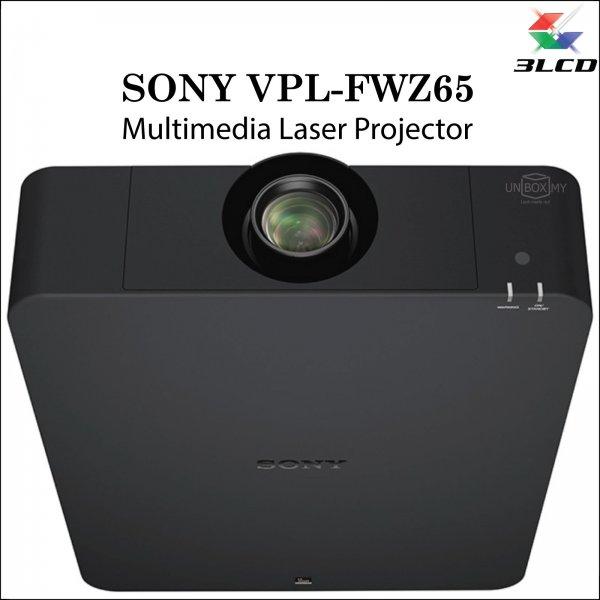 Sony VPL-FWZ65 3LCD WXGA Laser Multimedia Projector