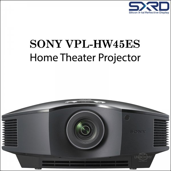 Sony VPL-HW45ES SXRD Full HD 3D Home Theater Projector