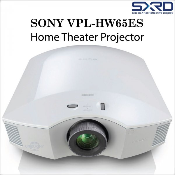 Sony VPL-HW65ES SXRD Full HD 3D Home Theater Projector