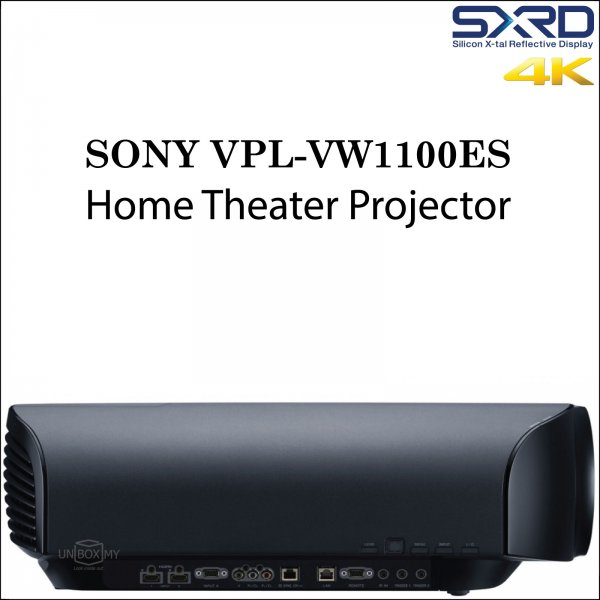 Sony VPL-VW1100ES SXRD 4K Home Theater Projector