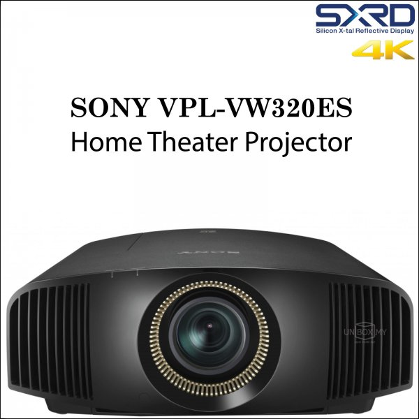 Sony VPL-VW320ES SXRD 4K Home Theater Projector