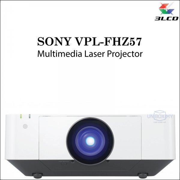 Sony VPL-FHZ57 3LCD WUXGA Laser Multimedia Projector