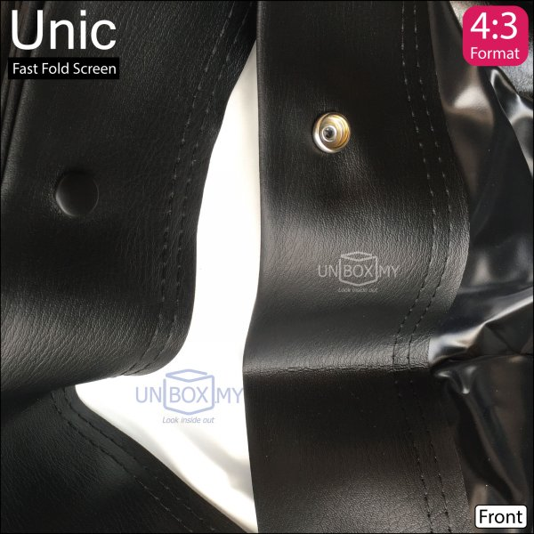 Unic Fast Fold Screen Front and Rear Fabric (NTSC 4.3)