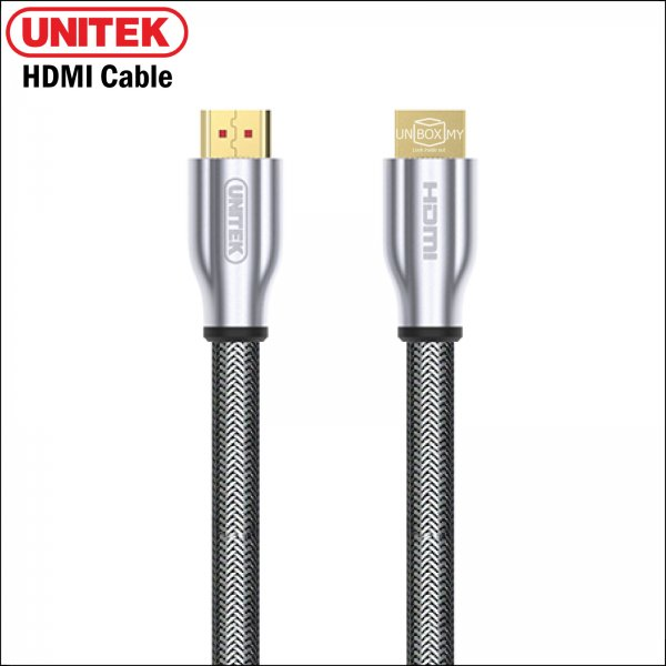 UNITEK HDMI (M) to HDMI (M) v2.0 Cable with Ethernet