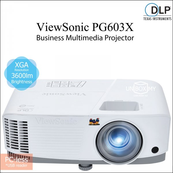 ViewSonic PG603X DLP XGA Business Education Projector