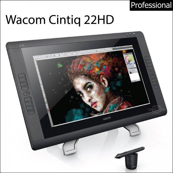 Wacom Cintiq 22HD Interactive Pen Display