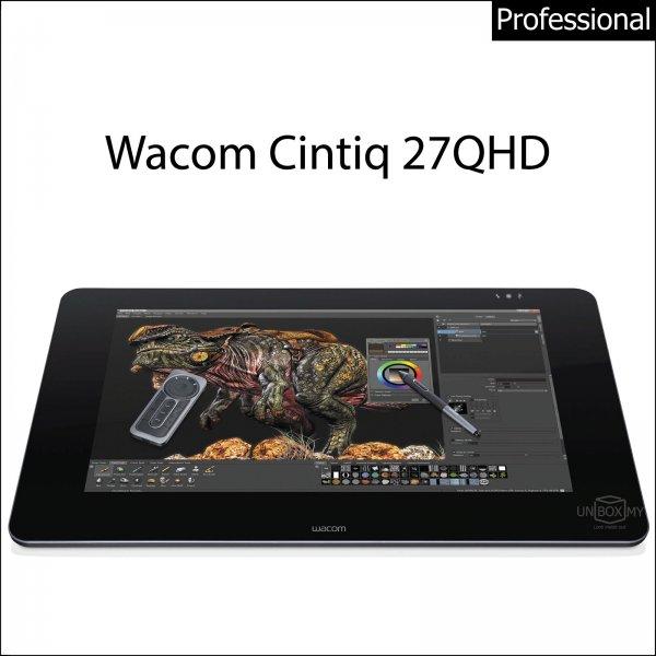 Wacom Cintiq 27QHD Interactive Pen Display