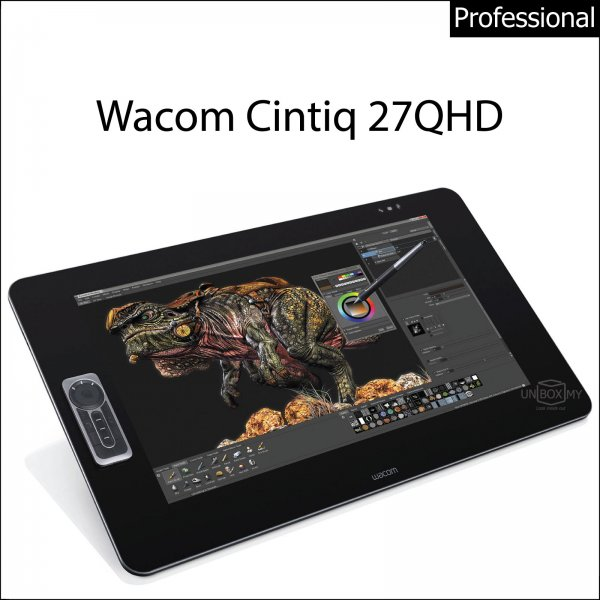 Wacom Cintiq 27QHD Interactive Pen Display