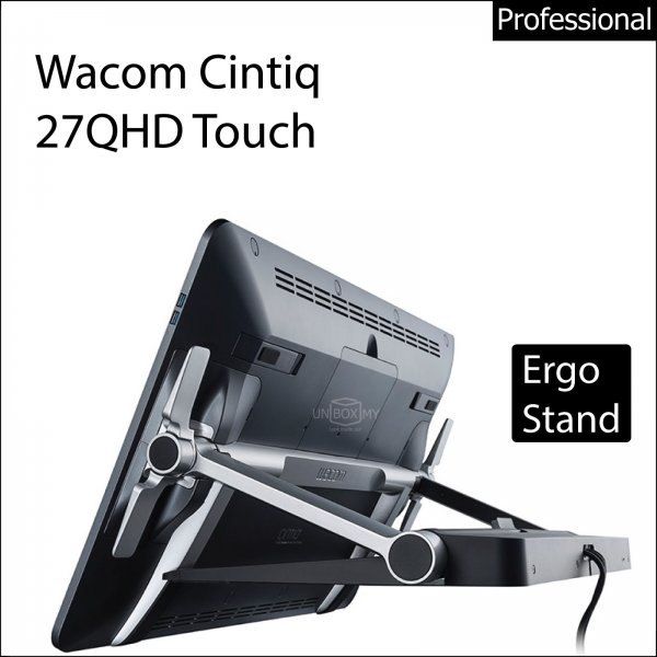 Wacom Cintiq 27QHD Interactive Pen and Touch Display