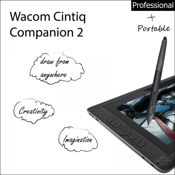 Wacom Cintiq Companion 2 Professional Creative Tablet