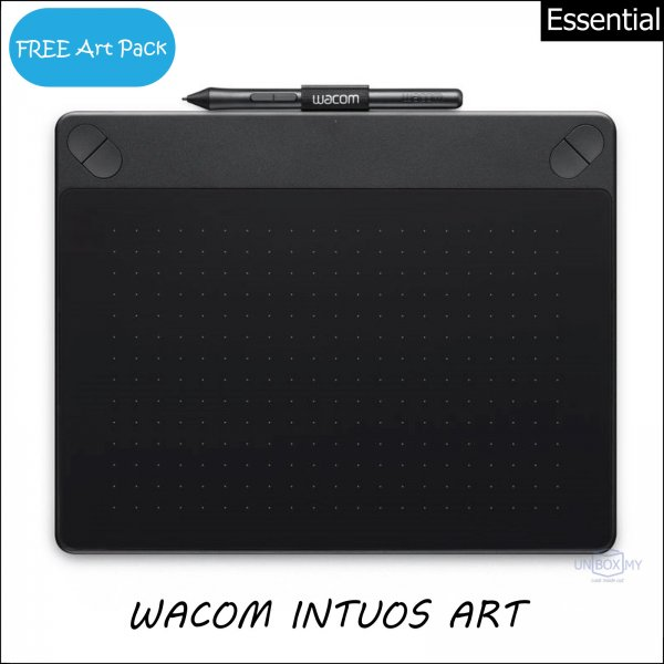 Wacom Intuos Art Pen and Touch Tablet Small (Black)