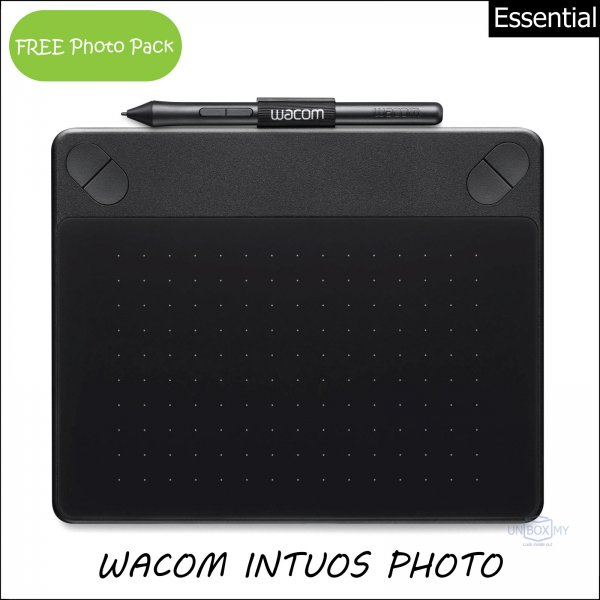 Wacom Intuos Photo Pen and Touch Tablet Small (Black)