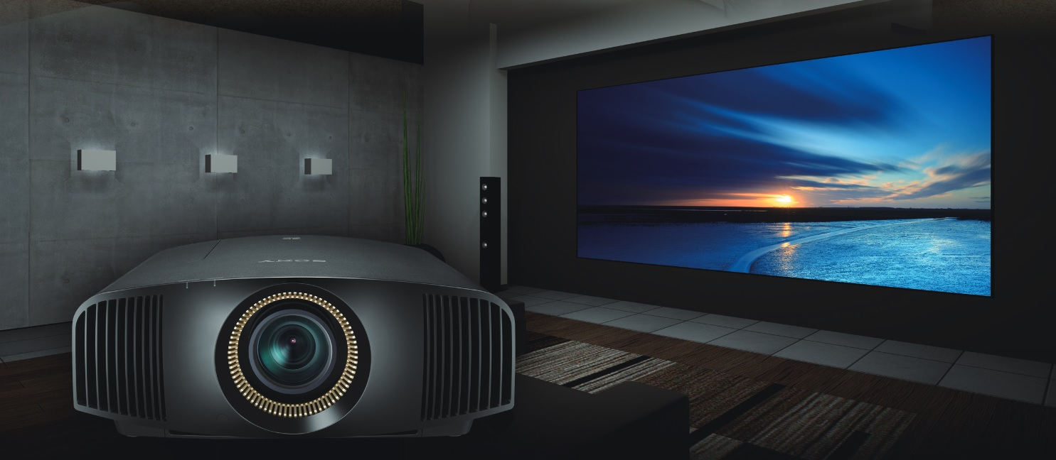 Sony VPL-VW520ES SXRD 4K Home Theater Projector