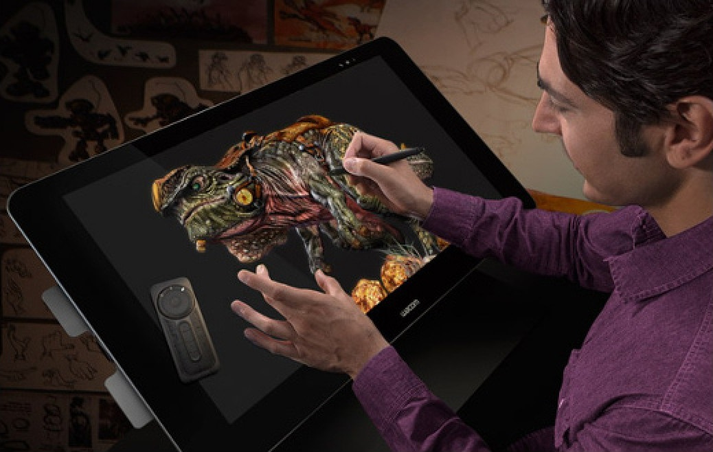 It Takes Millions Of Pixels To Make Colors Look This Sharp The Cintiq 27QHD